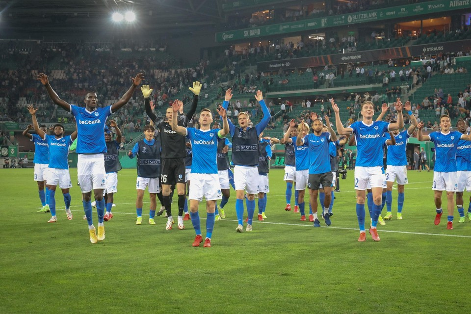 KRC Genk start de groepsfase met een uitzege in Wenen.