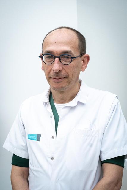 Abdominaal chirurg Wim Bouckaert.