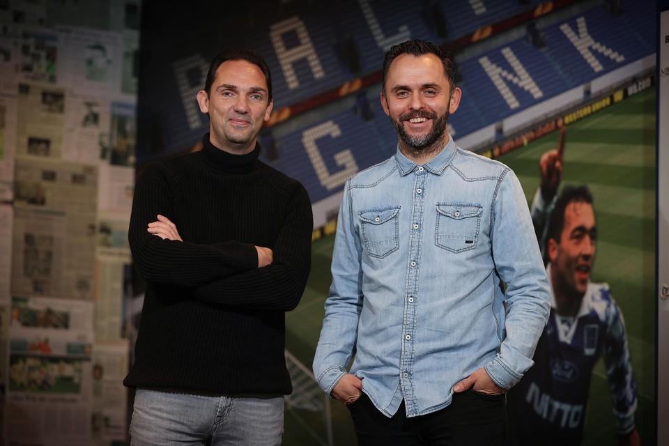 Dimitri de Condé en Dirk Schoofs.