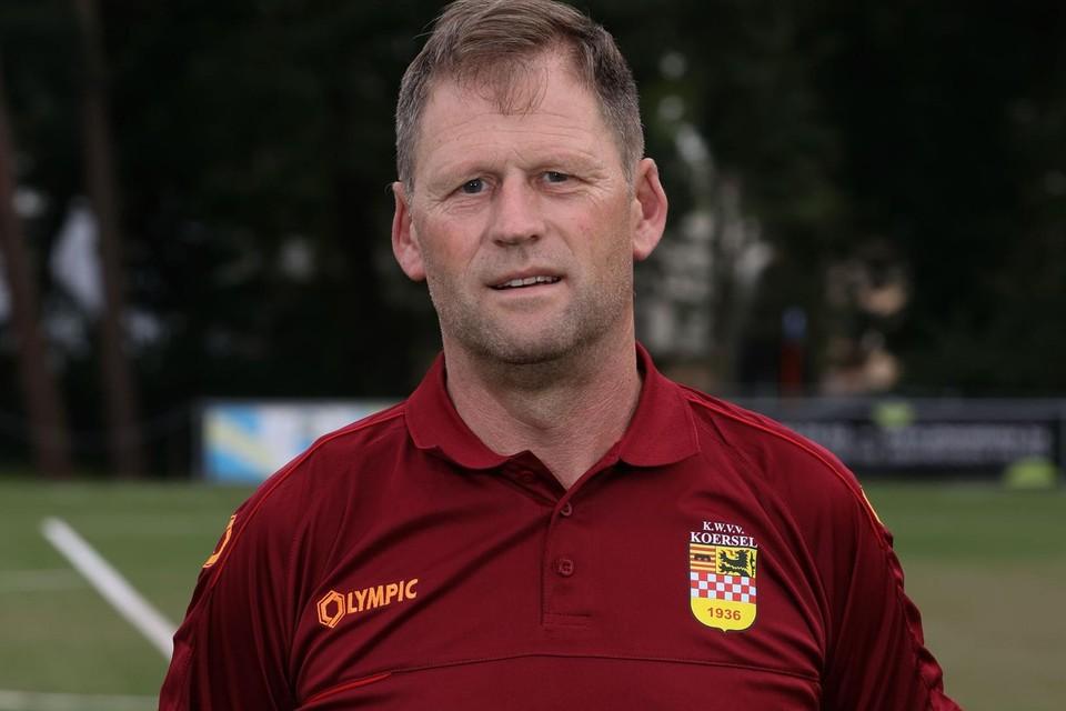 Bert Ghys is niet lang trainer bij Koersel.