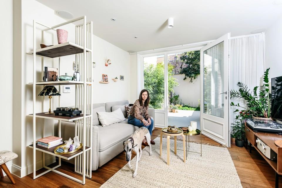 Van een verwaarloosde arbeiderswoning maakte Eliza een knusse stek met oude en nieuwe elementen.