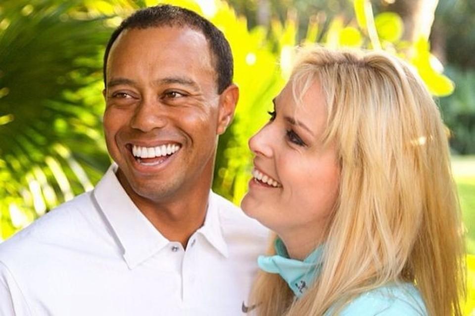 Woods vonn tiger Lindsey Vonn
