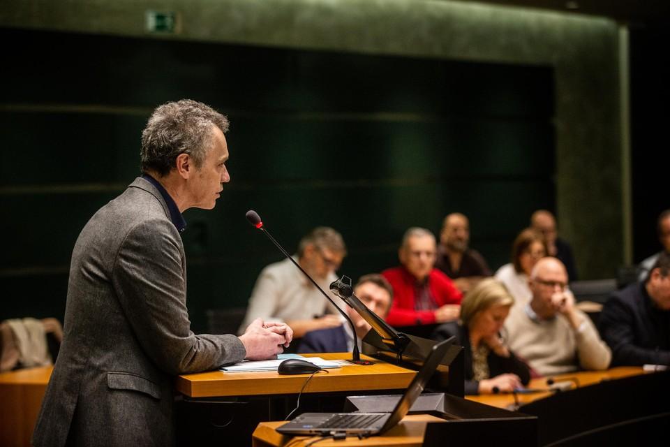 Waarnemend gouverneur Michel Carlier