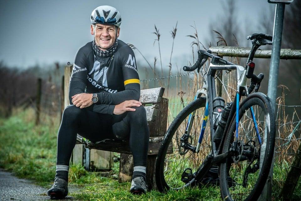 """Geert De Vlieger: """"Ik fiets twee of drie keer per week. In de zomer frequenter. Mijn record is 401 kilometer."""""""