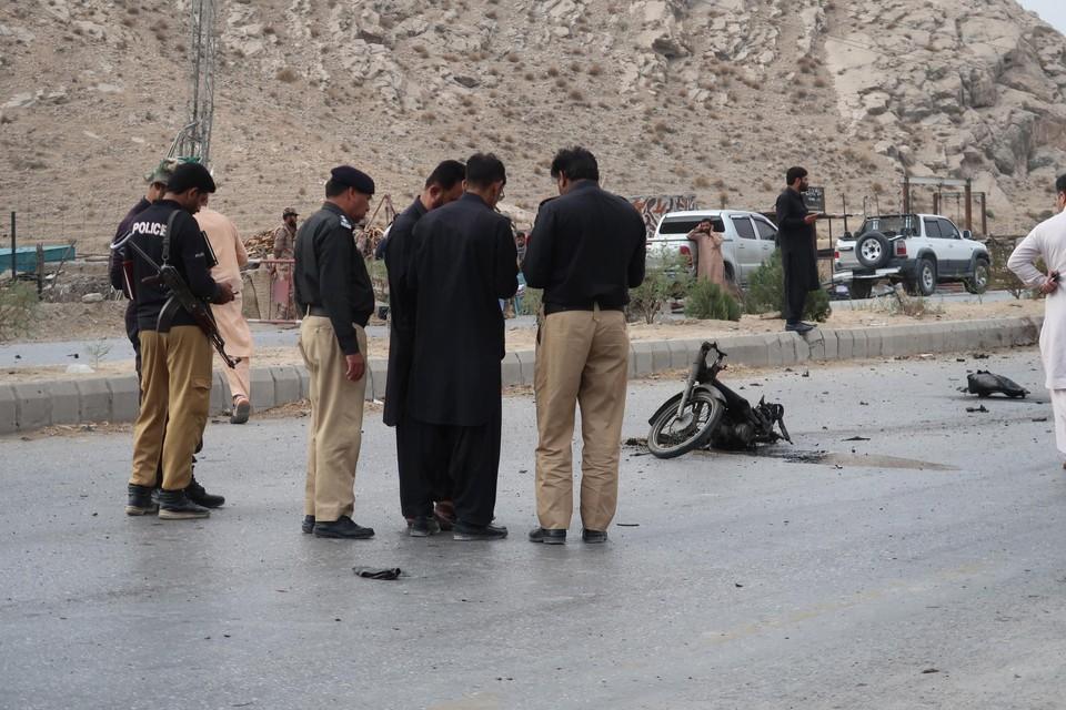 De aanslag in Quetta eiste minstens vier levens.