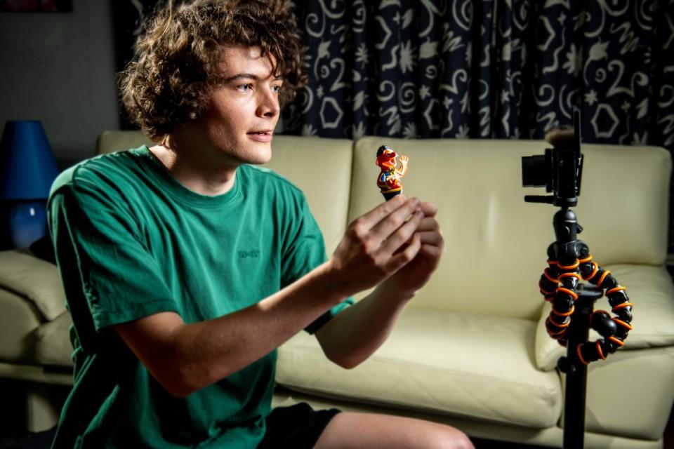 """""""Mijn eerste TikTok-video was meteen goed voor een miljoen views"""", vertelt Mrkrul Arne Claessens."""