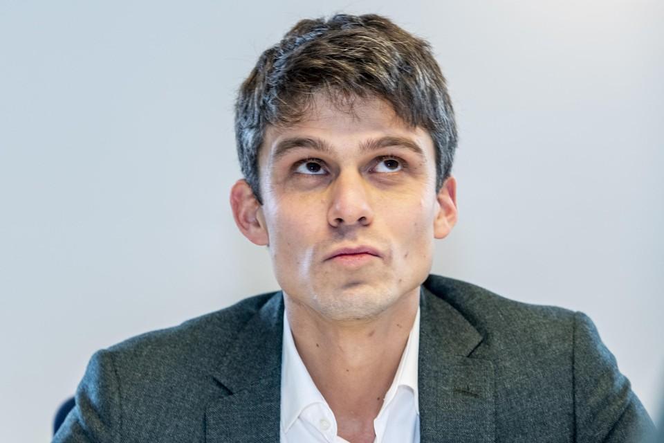 Minister van Media Benjamin Dalle (CD&V)