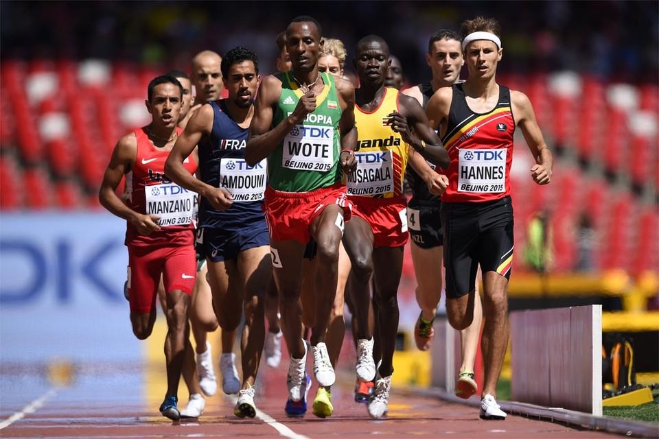 In de tweede reeks eindigde Hannes in 3:39.31 op de vierde plaats.