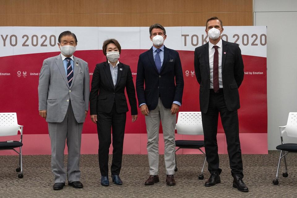 Het organisatiecomité van de Olympische Spelen.