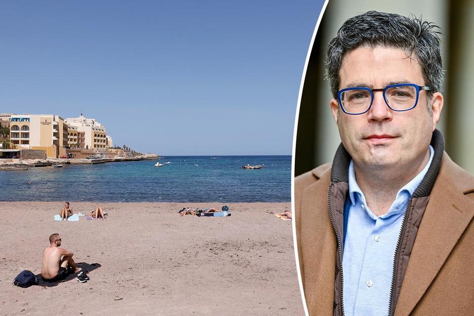 Links: Malta. Rechts: Steven Van Gucht.