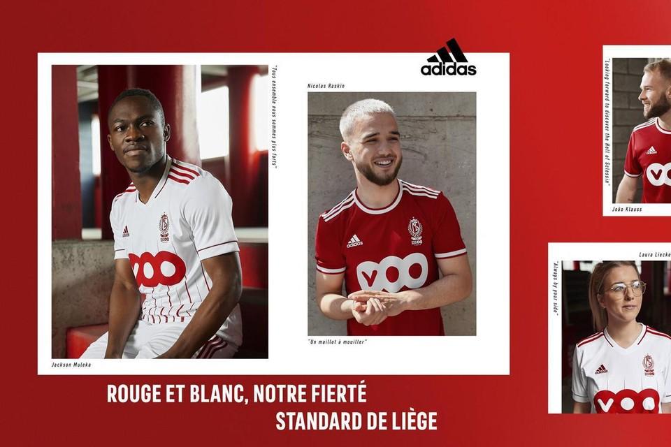 Met deze shirts zullen de Rouches in het nieuwe seizoen aantreden.