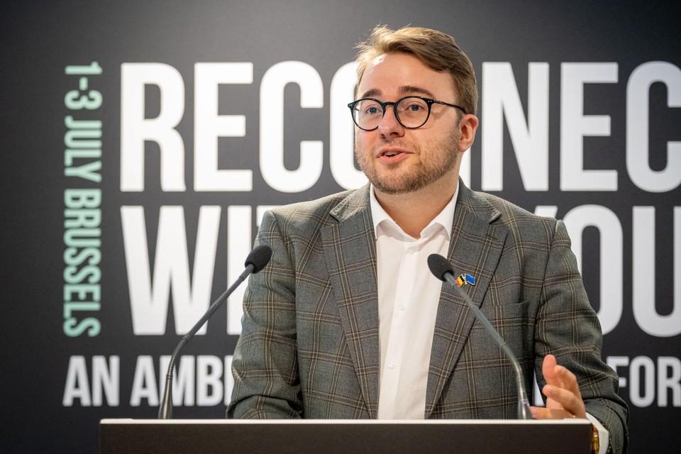 Jong CD&V-voorzitter Kevin Maas.