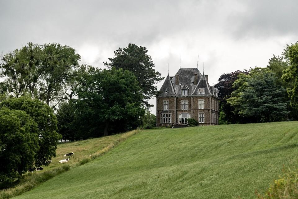 Kasteel Magis wordt vandaag bewoond door een oom van koningin Mathilde.