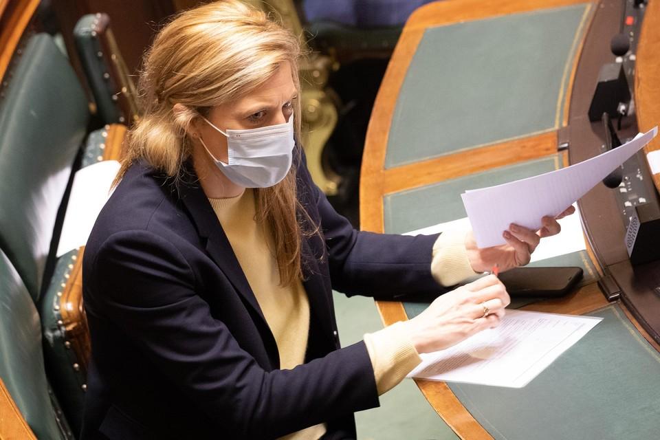Minister Annelies Verlinden.
