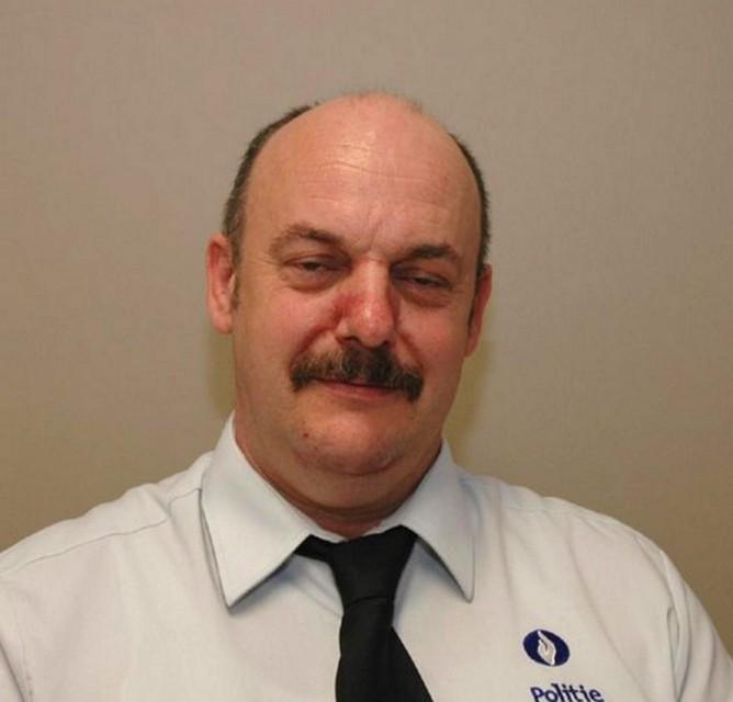 Politie-inspecteur Eddy Strijckers, net 55 geworden, kwam om het leven tijdens de interventie in Bilzen.