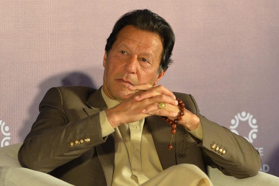 Pakistaans premier Imran Khan.