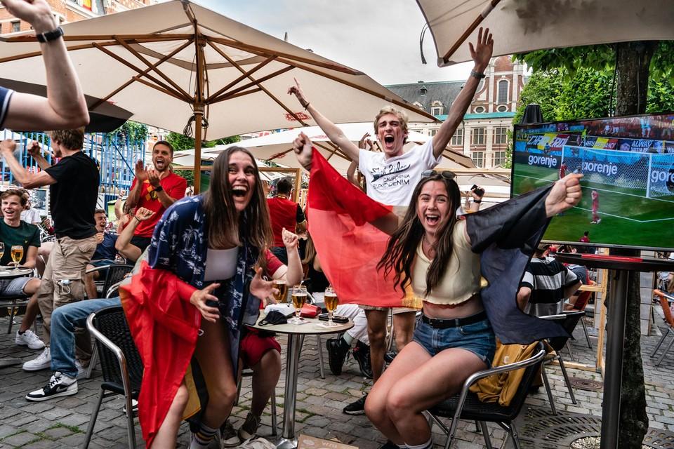 Voetbalfans kunnen gerust zijn: ze zullen de achtste finale van de Rode Duivels sowieso op café kunnen volgen, ook als ze die op 27 juni om 21 uur spelen.