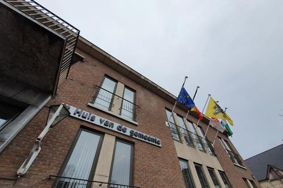 Het gemeentehuis van Bocholt.