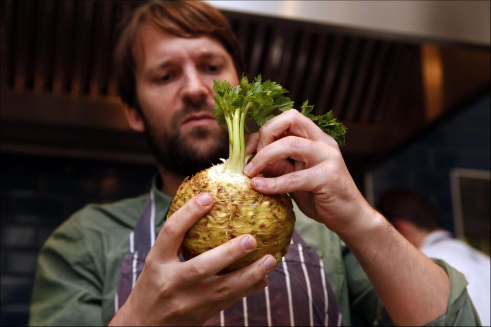 Chef-kok René Redzepi.