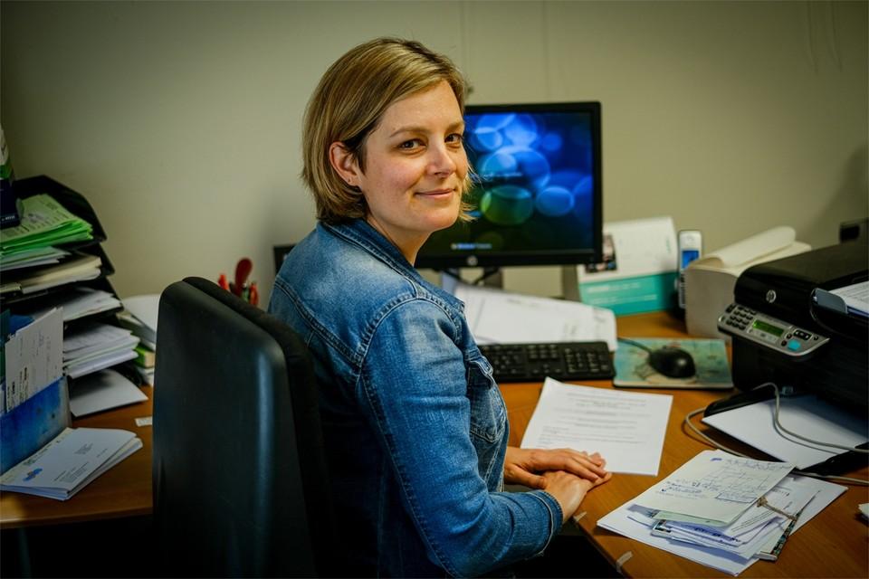 Dokter Nele Van Loon is arbeidsarts in het Jessa Ziekenhuis én zingt in het koor New Vocal Pop Group.