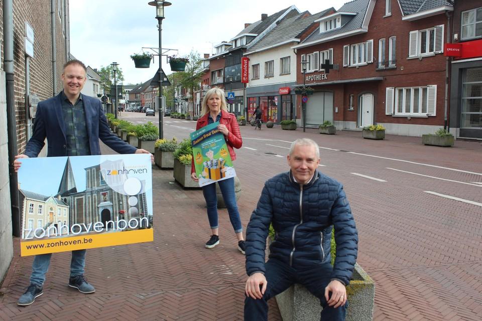 De campagne van Unizo Zonhoven, Stralend Zonhoven en het gemeentebestuur gaat op 1 juni van start