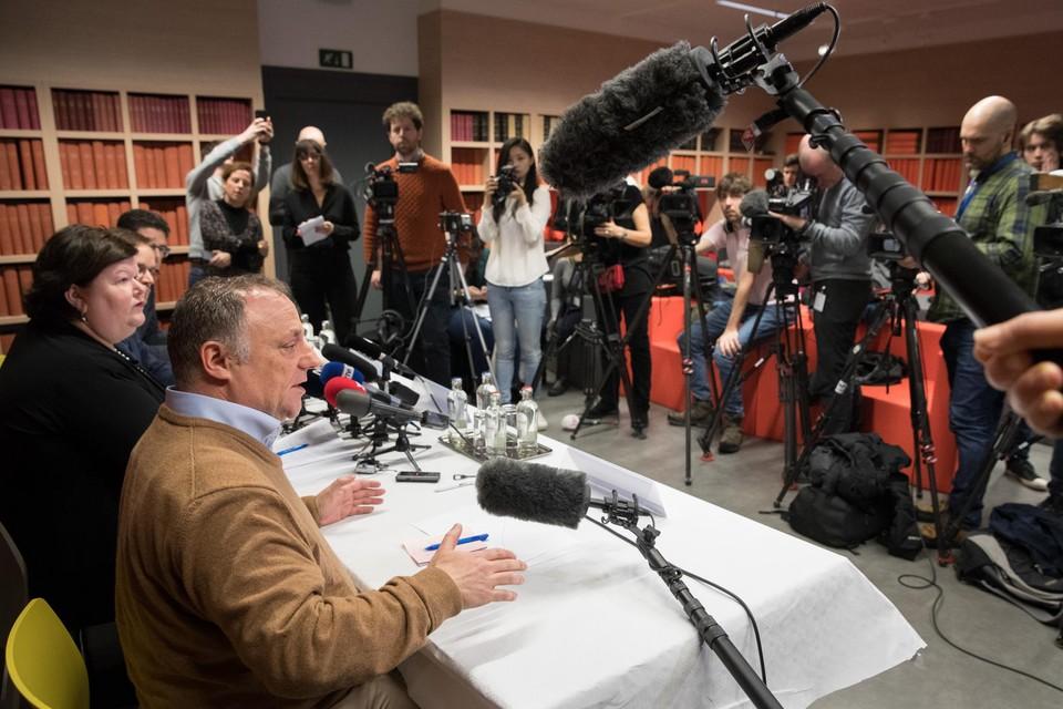 Marc Van Ranst begin dit jaar voor véél media, zoals hij voorzag.Ook al wou het kabinet-De Block z'n boodschap volgens hem klein houden.