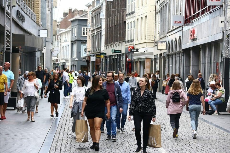 Winkelen in Maastricht.