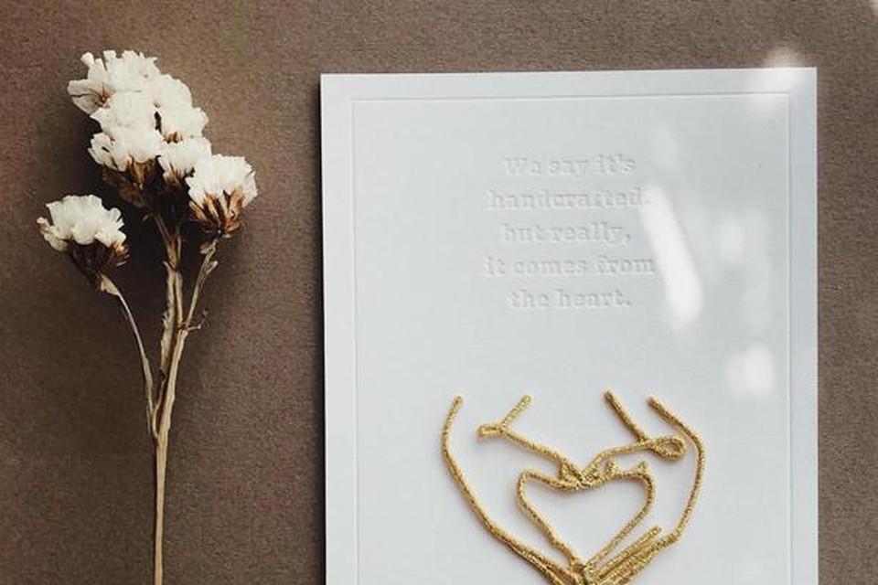 Een juweeltje om te borduren op een kledingstuk naar keuze, dicht bij je eigen hart te dragen, 16,95 euro via petitpourri.be