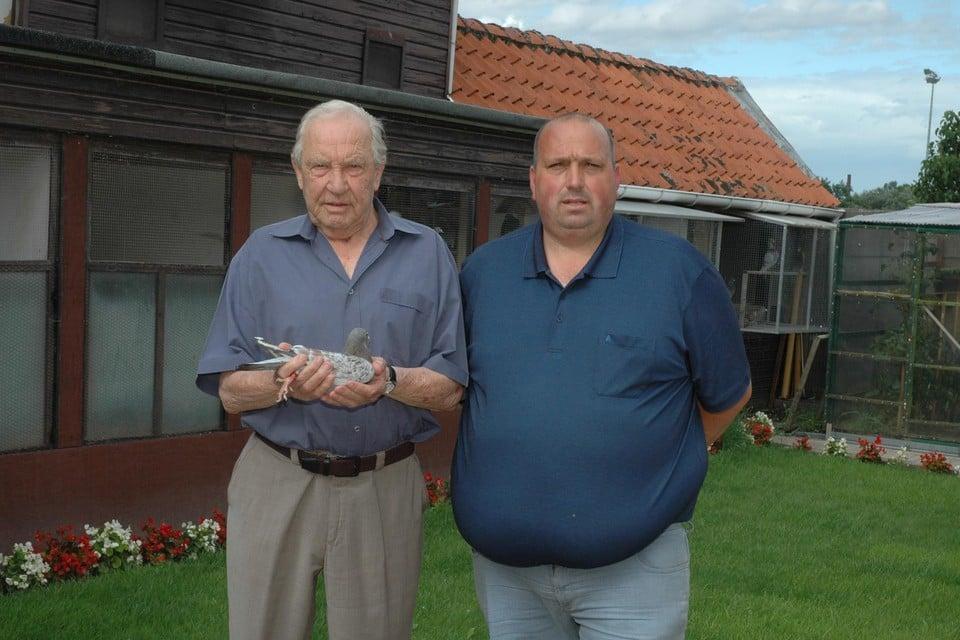 Roger Hermans en schoonzoon Wim Bonné.