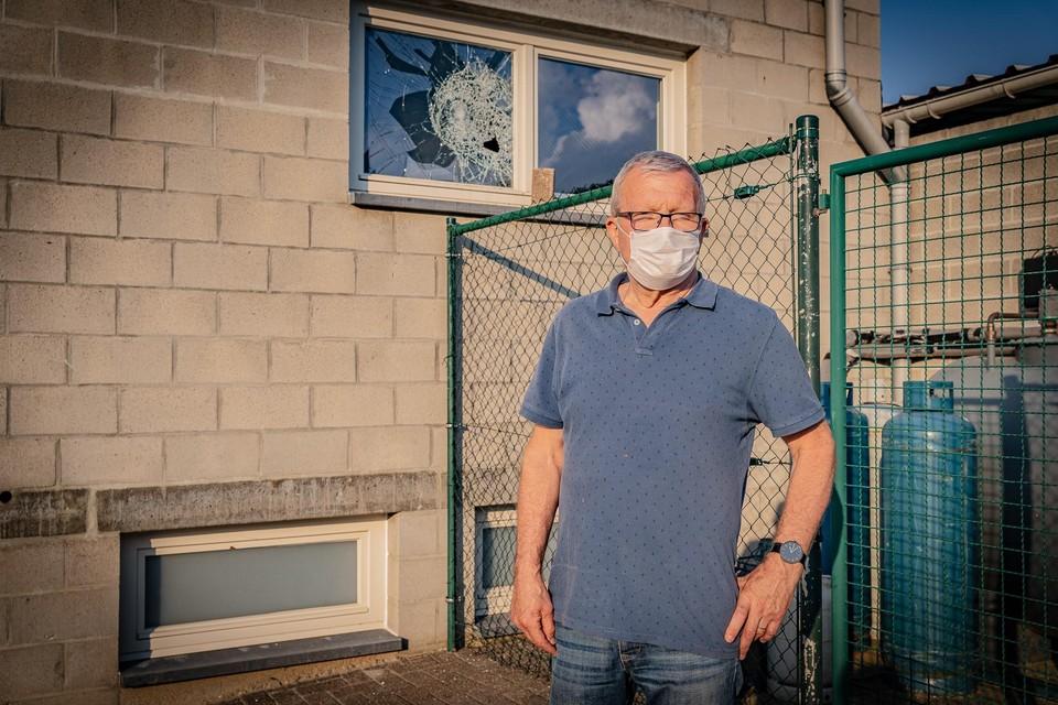 Piet Peeters betreurt de inbraak in de kantine die helemaal werd opgeknapt.