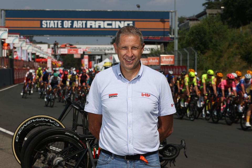 Marc Wauters (Cycling Manager van Circuit Zolder) sloeg de handen in elkaar met organisator Christophe Brandt.