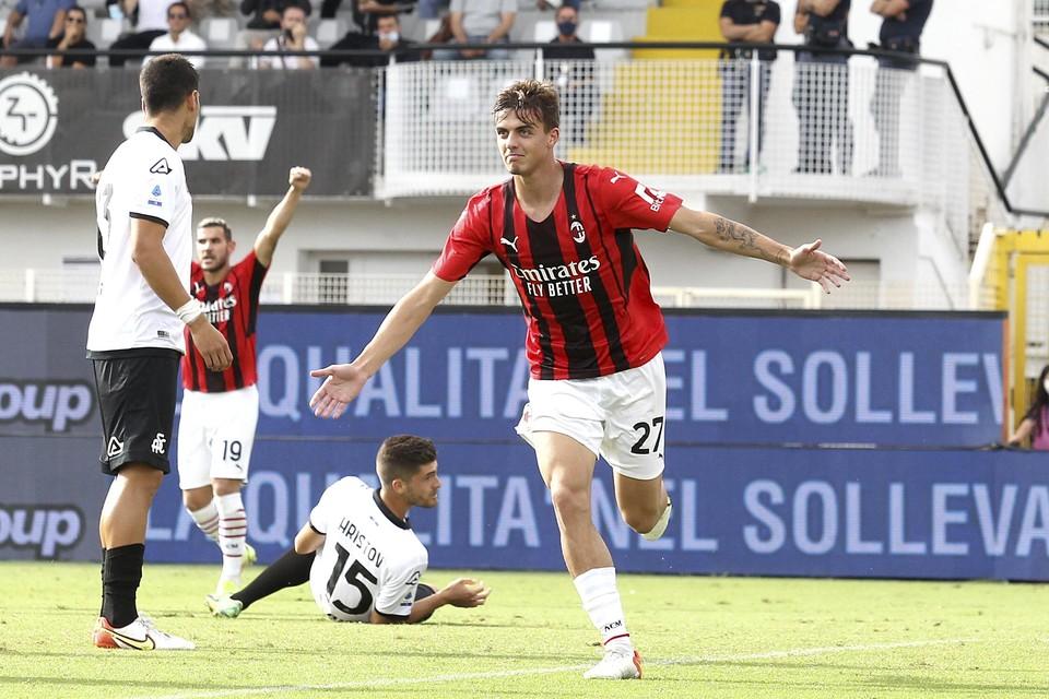 Daniel Maldini moet AC Milan na tien jaar nog eens aan de titel helpen.