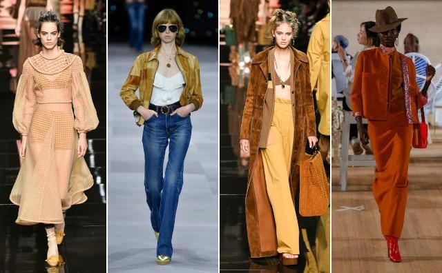 Vlnr: Fendi, Celine, Fendi en Marc Jacobs