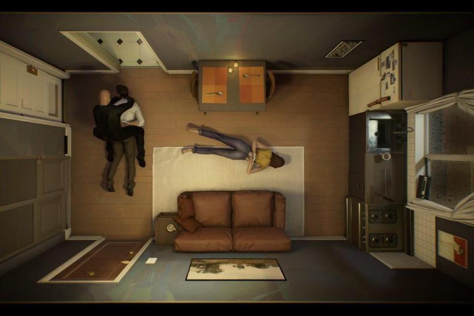 Twelve Minutes speelt zich af in een claustrofobisch klein appartement, maar blijft door een slim versneden verhaal wel boeiend.