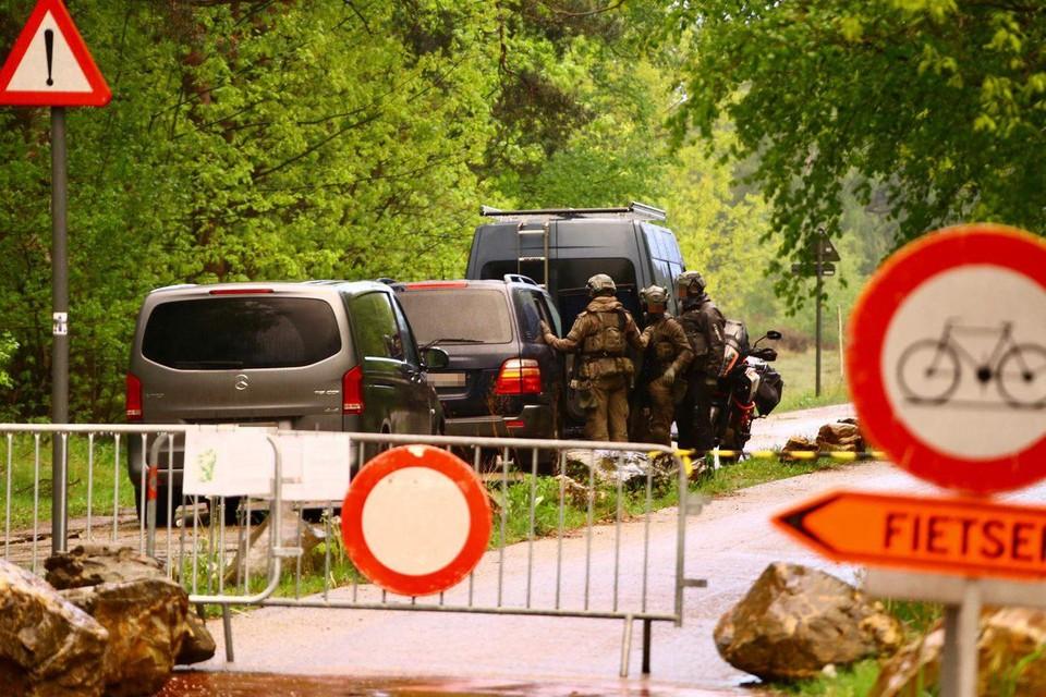 Defensie kwam met 90 militairen de federale politie versterken.