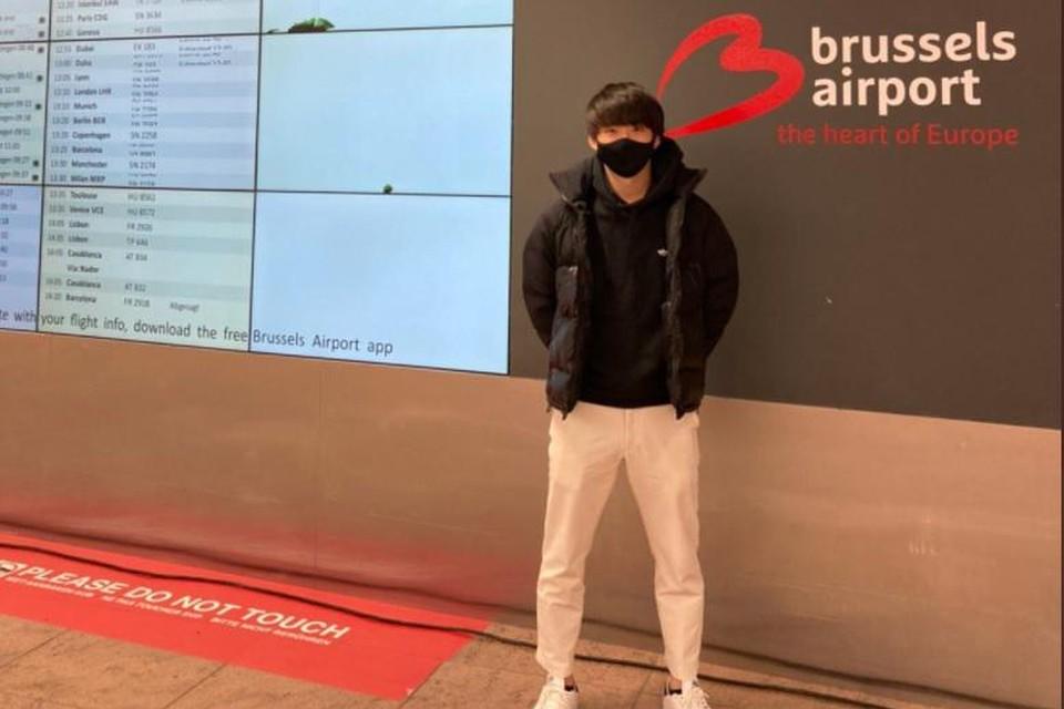 Koki Saito landde maandag in Zaventem