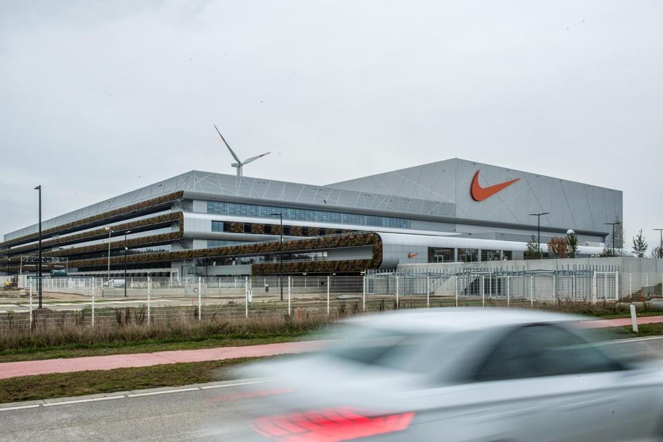 De site van Nike in Ham is aan uitbreiding toe.
