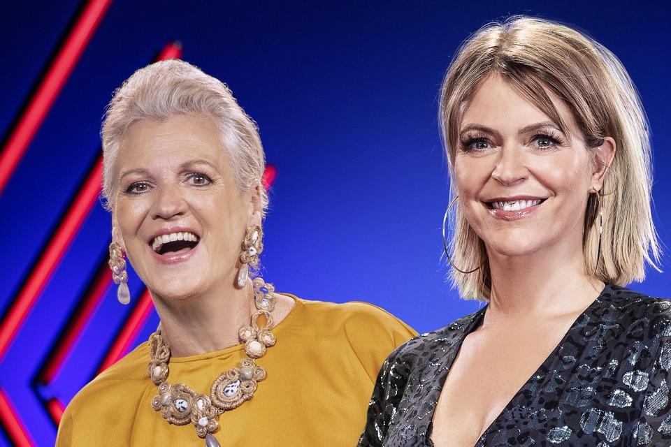 Marie-Jeanne en Karen.