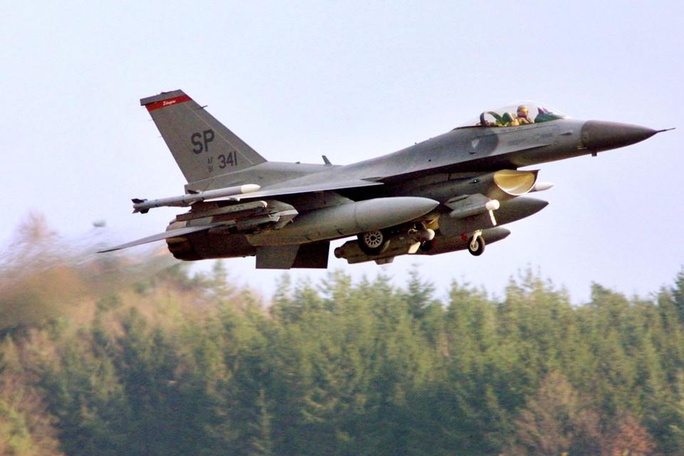 F16-piloot op luchtmachtbasis van Spangdahlem