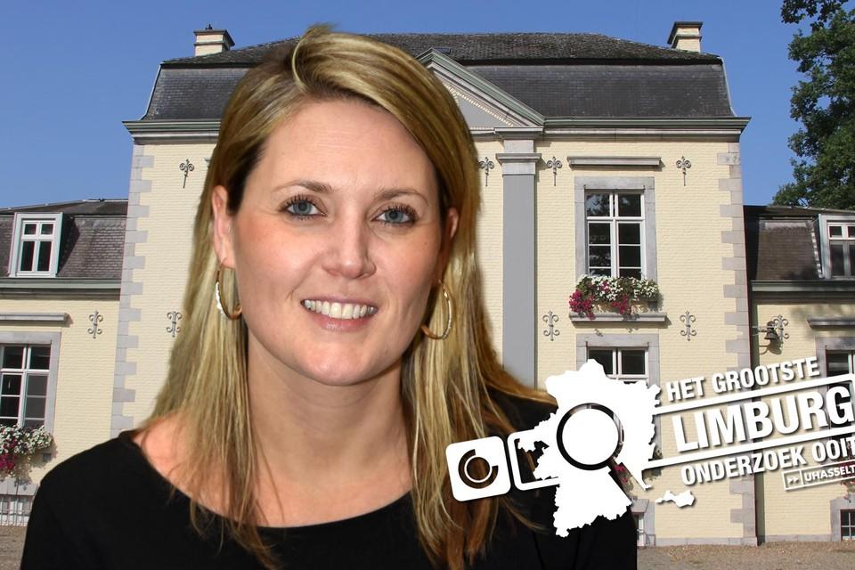 Burgemeester Sofie Vandeweerd.