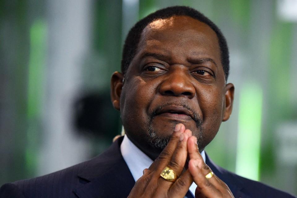 Centraal-Afrikaanse premier Firmin Ngrebada
