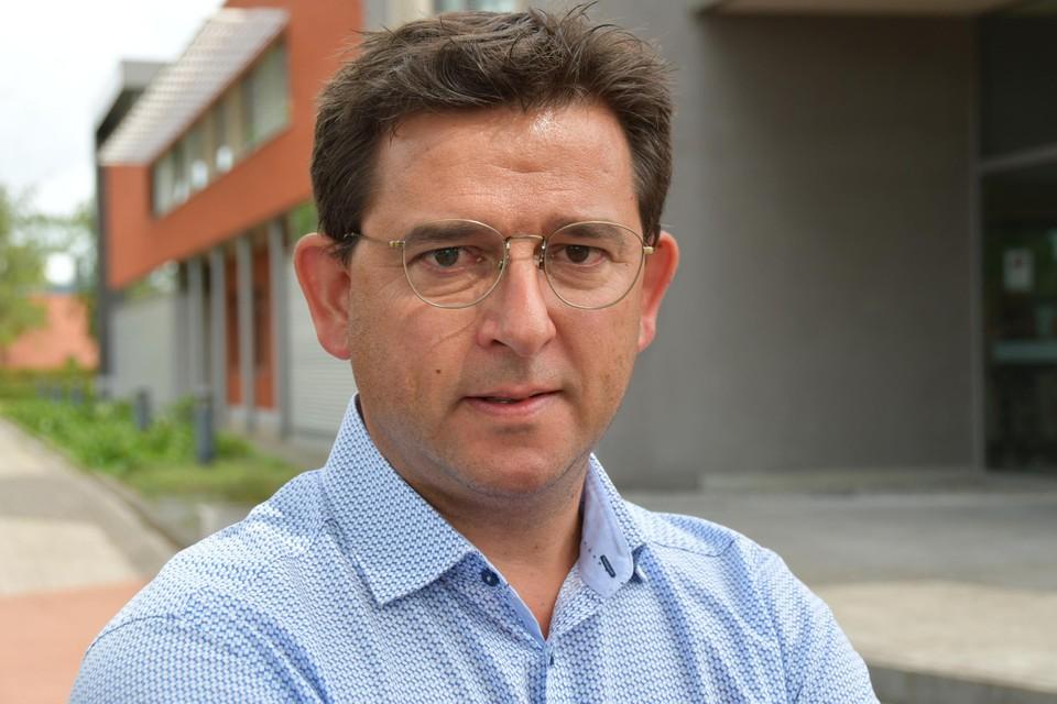 Burgemeester Mario Borremans.