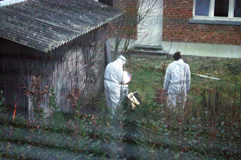 Speurders vinden het lichaam van Priscilla Leurs in Heist-op-den-Berg.