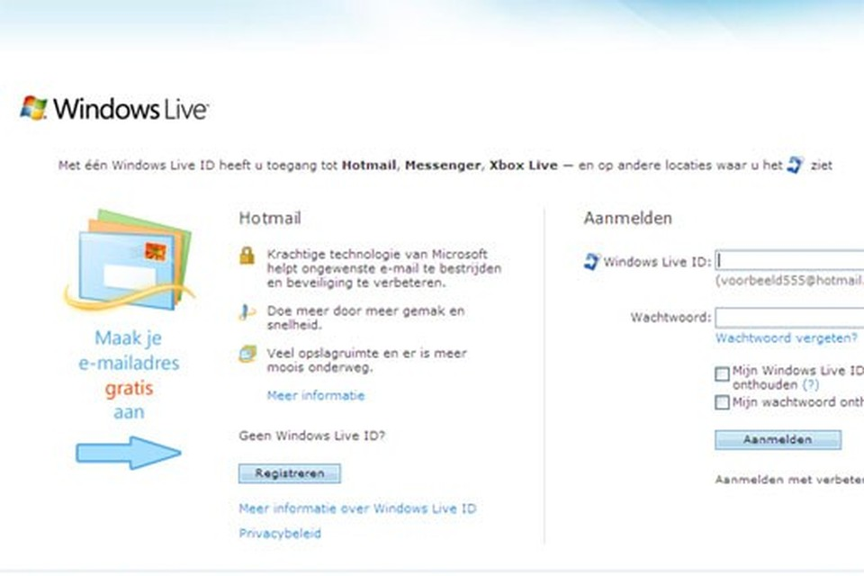 Live hotmail mobile Difference Between