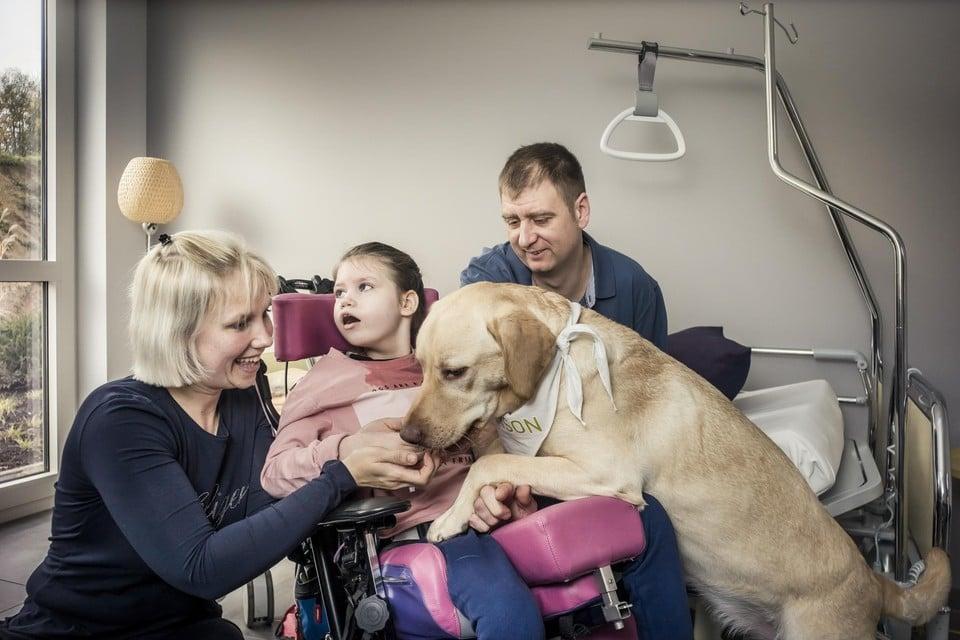 In UZ Brussel kan het al, in het Sint-Trudo Ziekenhuis mogen honden en katten volgend jaar op bezoek.