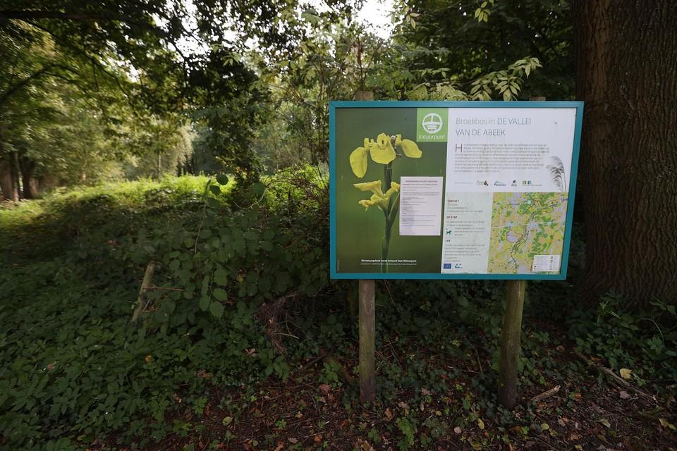 In natuurreservaat Vallei van de Abeek in Bocholt wordt 2.400 vierkante meter bebosbare grond voorzien.
