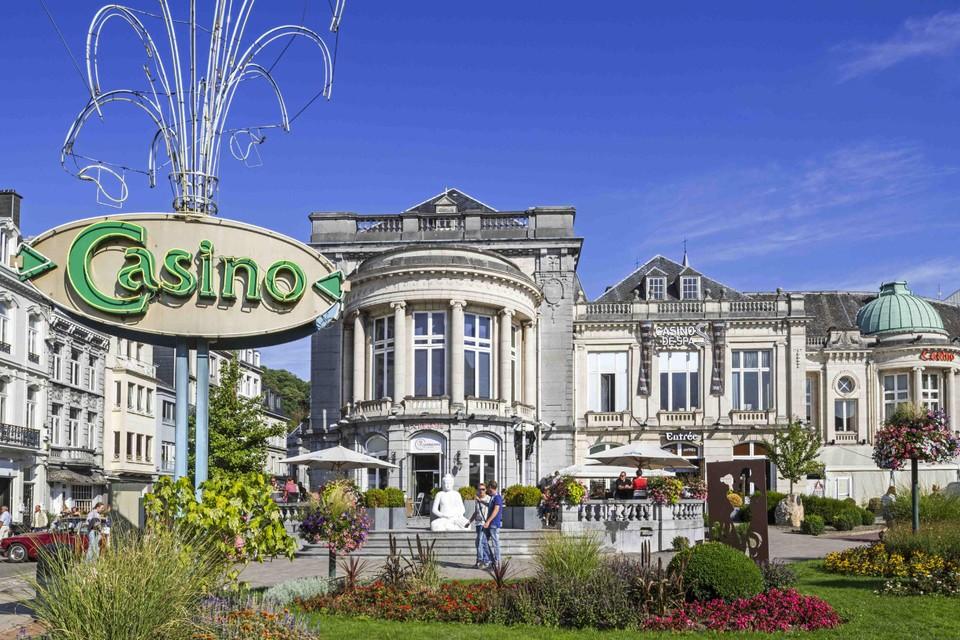 In Spa werd voor het gegoede cliënteel een casino gebouwd.