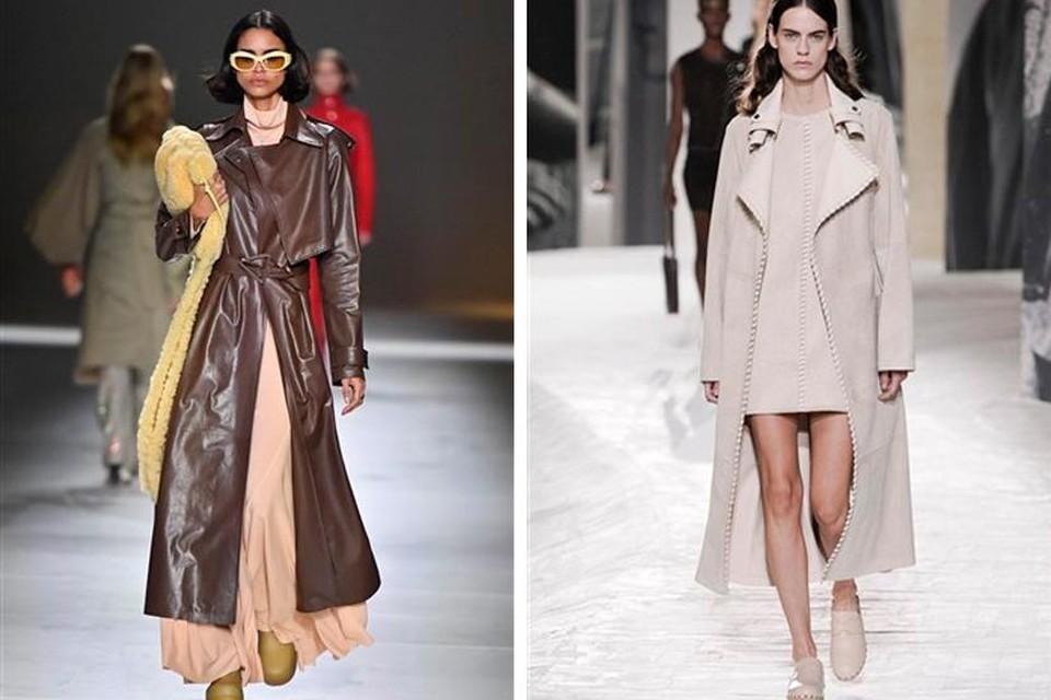 Catwalkbeeld: Bottega Veneta en Hermès