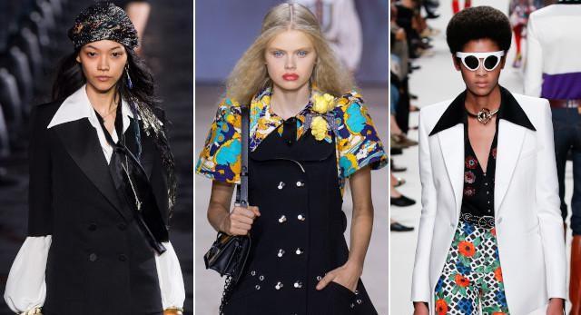 Vlnr: Saint Laurent, Louis Vuitton en Paco Rabbane