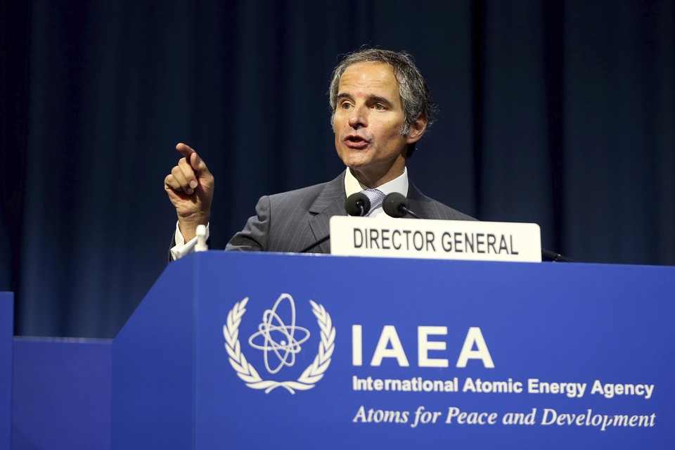 IAEA-directeur-generaal Rafael Grossi
